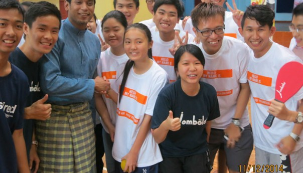 Minister of Youth and Sports at the Jombola Clinic in Rembau
