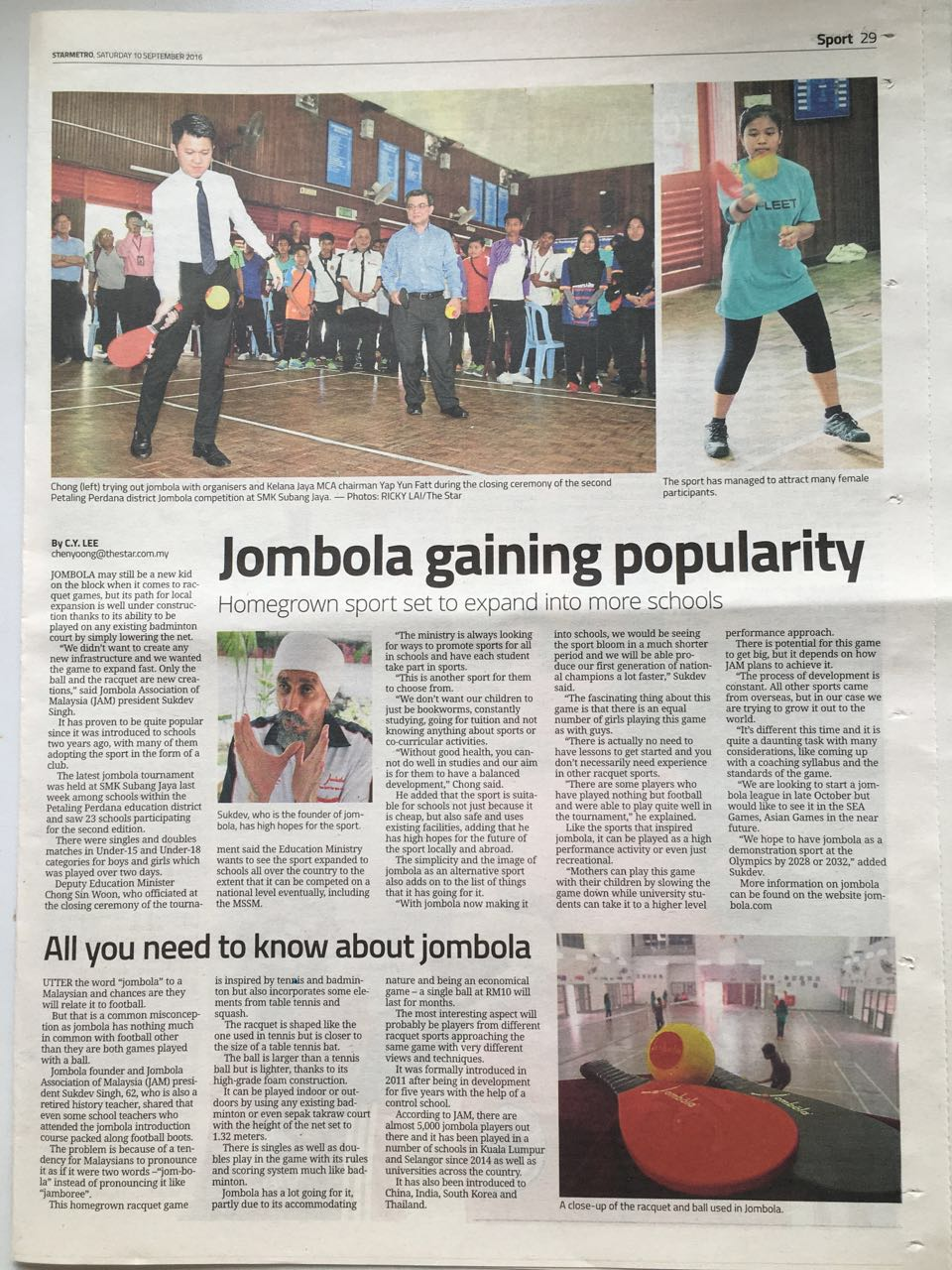 2016-09-10-jombola-star-metro-home-grown-sport-gaining-popularity